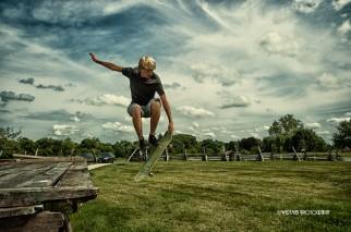 senior photos sports