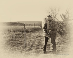 large print engagement photos