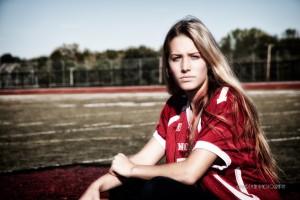 high school football and girls