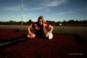 high school football and soccer girls
