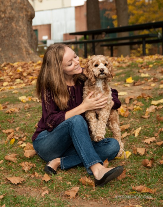 senior photos and pets