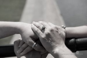 engagement photo rings