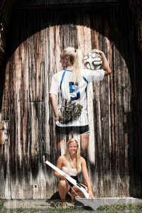 composite senior girl sports