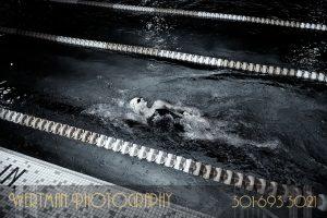 female back swim