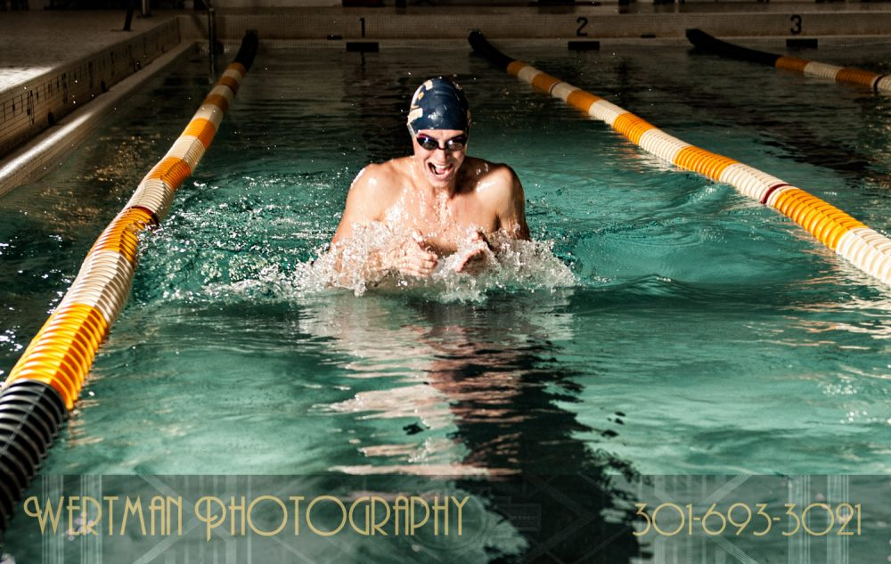 male breast swim