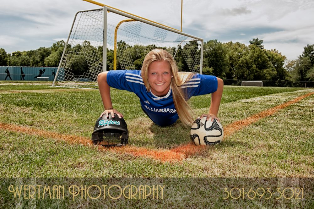 senior girl soccer softball