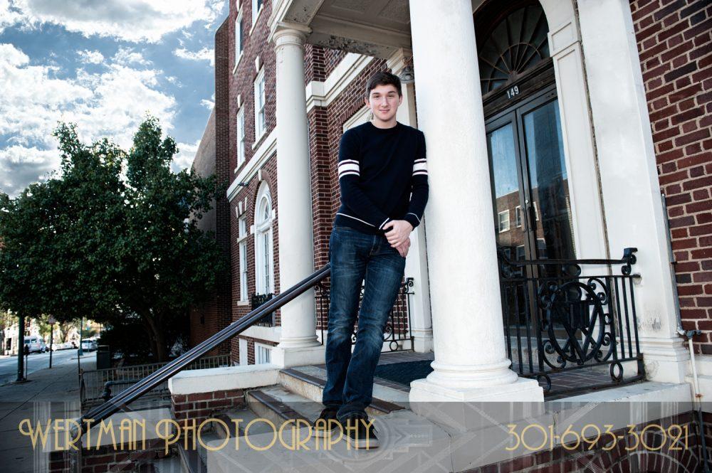 senior theatre student