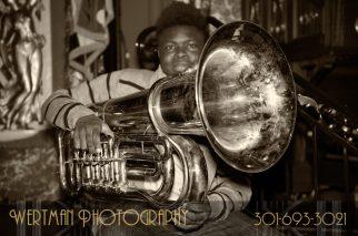 tuba senior musician
