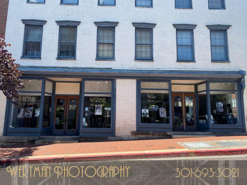 studio store front wertman photography