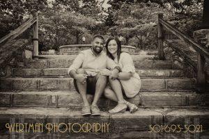 engagement photo, park