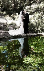 wedding reflection